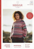 Sirdar Mystical Knitting Pattern Booklet - 10040 Sweater